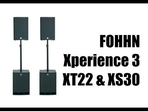 FOHHN Xperience 3 | XT22 & XS30 | DJ Equipment