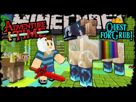 Minecraft: Adventure Time - Finn's Quest For Ramicorn Grub! - Trapped In Twilight Forest! Episode 17 video