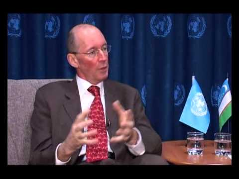 TALKING UN WITH UNICEF REPRESENTATIVE JEAN-MICHEL DELMOTTE