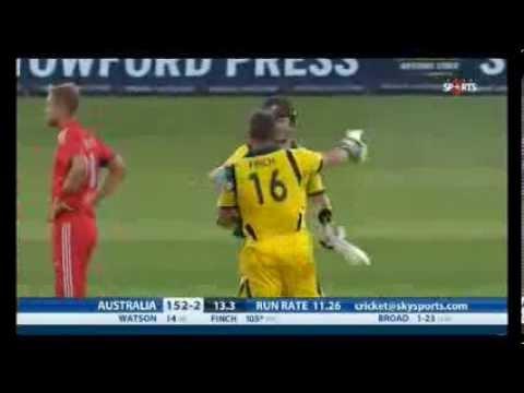 Aaron Finch world record 156 runs off 63 balls england vs australia 1st T20  FULL HIGHLIGHTS 3D/HD