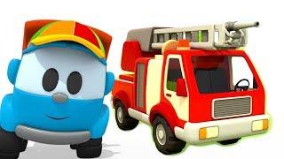 Coleção. Caminhão de bombeiros. Léo o caminhão curioso.