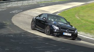 Mercedes-AMG C63 S Coupé - Exhaust Sounds on the Nurburgring