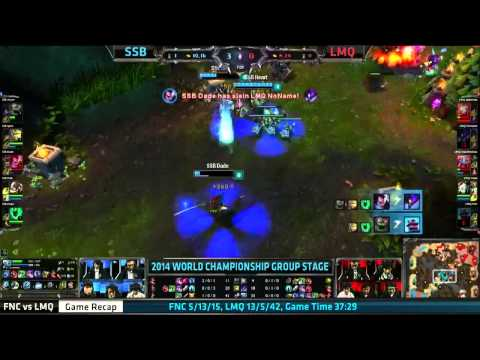 The best play of Day 2 of Groups C & D - Dade's Yasuo playing around LMQ and refusing to die!