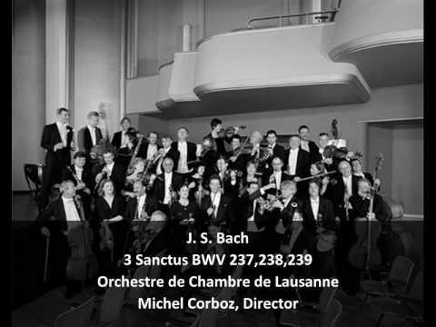 Бах Иоганн Себастьян - Sanctus in C, BWV 237