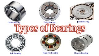 Types of Bearings - Different Types of Bearings