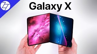 Samsung's Foldable Galaxy X - HAS CHANGED EVERYTHING!