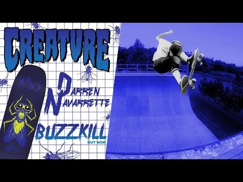 Creature Skateboards: Navarrette Buzzkill Deck OUT NOW!