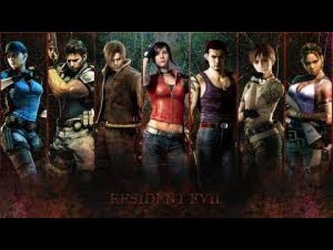 История серии Resident Evil (Обновлено)