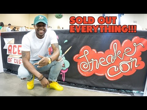 Sold Out Everything At SNEAKERCON CHICAGO 2016 VLOG #2