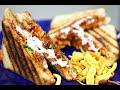Cheesy and Crispy Misal Sandwitch | मिसळ सँडविच | Street Food Recipe | Sprouts Sandwich | Madhura