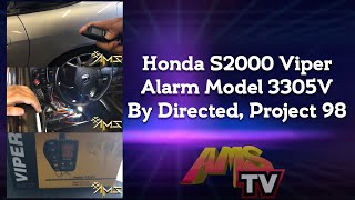 Honda S2000 Viper Alarm Model 3305V By Directed, Project 98