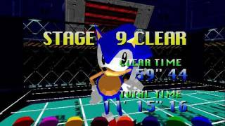 Arcade Longplay [224] Sonic the Fighters