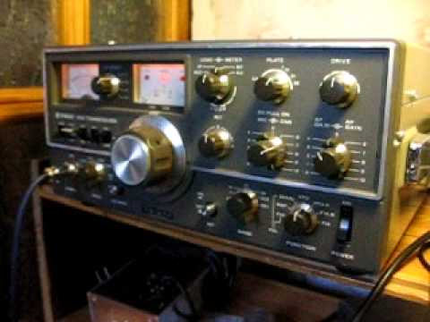 KENWOOD TS-520 CW QSO UA1CBM YP5WFF