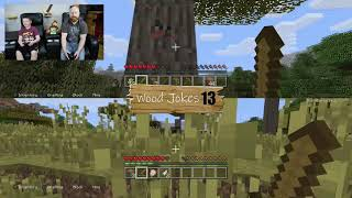 "Minecraft Challenge!!  How many wood jokes ""WOOD"" be inappropriate? LOL"