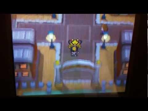 Pokemon Soulsilver action replay pokemon modifier in action