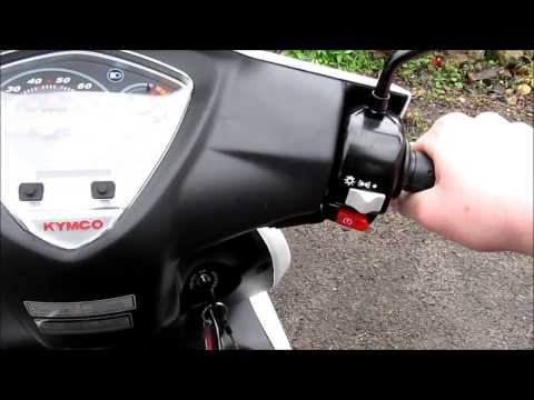 Kymco Super 8 50cc 2-Stroke Review