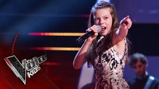 Courtney performs 'I Got You (I Feel Good)': Semi Final   The Voice Kids UK 2017