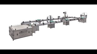 AUTOMATIC AEROSOL FILLING MACHINE SPRAY (OTOMATİK AEROSOL DOLUM MAKİNESİ SPRAY DOLUM MAKİNESİ)