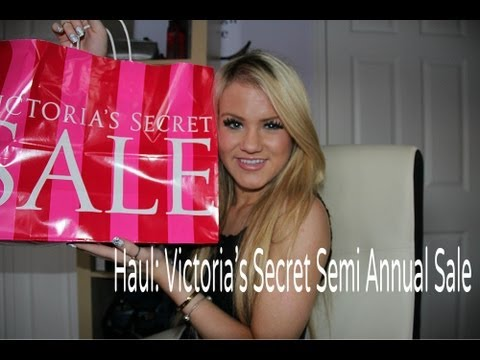 Haul: Victoria's Secret Semi Annual Sale