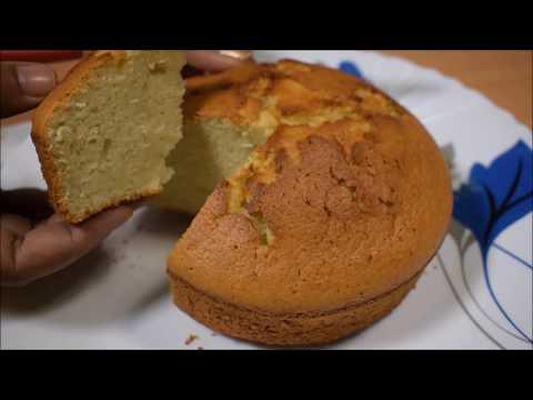 आसान तरीके से बनाये ये बिना कंडेंस्ड मिल्क वाला वैनिला स्पोंग केक - Egg Vanilla Cake Recipe