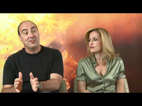 Oliver Parker And Gillian Anderson Talk Johnny English Reborn