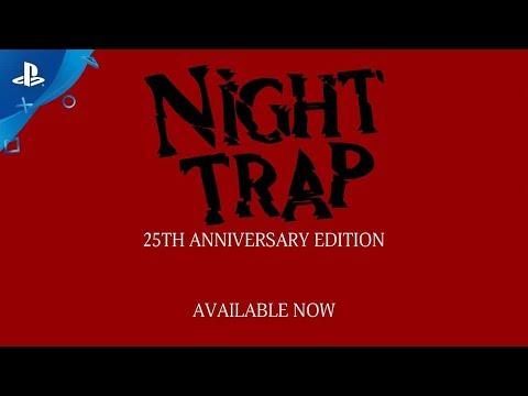 Night Trap - 25th Anniversary Edition - Launch Trailer | PS4