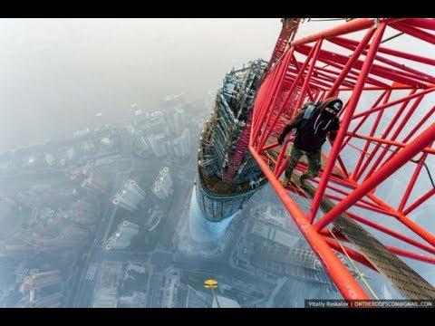 Choáng ngợp với 33 hình ảnh được chụp từ những điểm cao nhất thế giới!