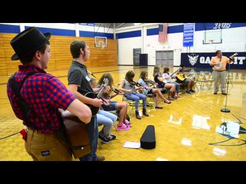 Gate City Middle School music program