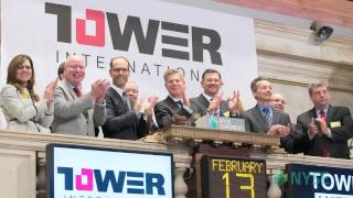 Tower International Visits the NYSE