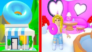 I Bought My Own Donut Shop In Adopt Me! (Roblox)