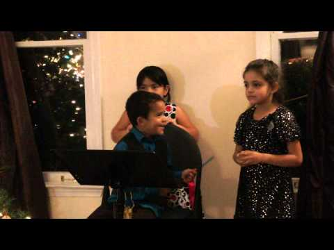2012 Holiday Feastesta! - Little ones singing Rudolph