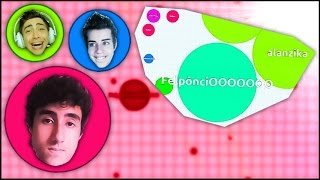 A SAGA DO AGAR.IO!