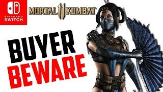 Mortal Kombat 11 for Nintendo Switch Buyers Beware