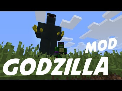 Minecraft Mod Showcase: GODZILLA!!!