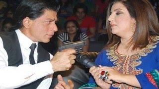 Shahrukh Khan TAKES A DIG at Farah Khan