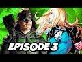 Arrow Season 6 Episode 3 - Batman TOP 10 WTF and Comics Easter Eggs
