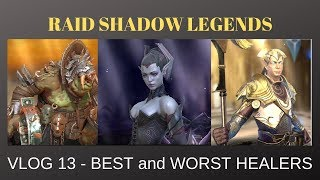 Raid Shadow Legends: SKNOVA VLOG 13 - Best Healers