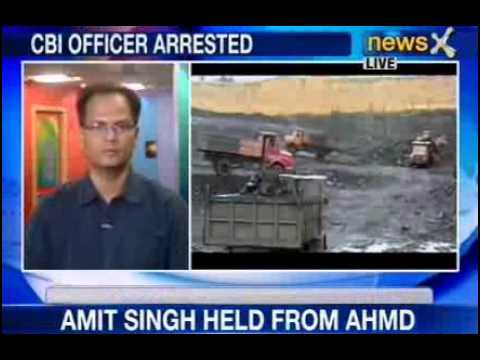 Coal gate scam:  CBI officer Vivek Dutt takes bribe, arrested