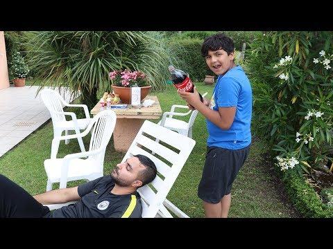 Prank Coca Cola sur papa ,adel sami les boys tv thumbnail