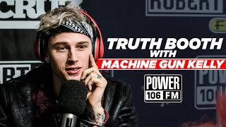 Download Lagu Machine Gun Kelly Enters 'The Truth Booth' - 3 Personal Questions Gratis STAFABAND