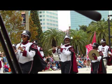 Orlando Florida Citrus Parade 2013:  Anniston High School - Anniston AL