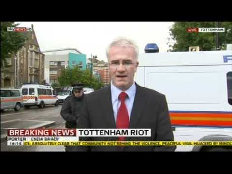 Tottenham Riot 2011: Shaun Hall speaks (Brother of Mark Duggan)
