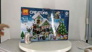 Mở hộp Lele 39015 Lepin 36002 Lego Creator Expert 10249 Winter Toy Shop giá sốc rẻ nhất