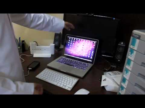 Henge-Dock / Docking station for MacBook/MacBookPro - Arabic Video