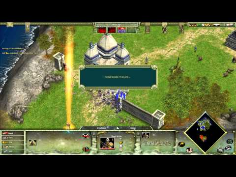 Age of Mythology - The Titans Expansion - 2. Atlantis Reborn - Titan Difficulty [HD]