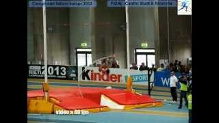 Assoluti Indoor Ancona 2013 | Record italiano salto con l