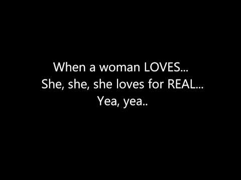 R.kelly - When A Woman Loves **(lyrics On Screen)** video