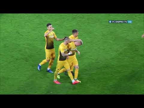 Днепр - СК Днепр-1 - 1:2. Обзор матча [HD]