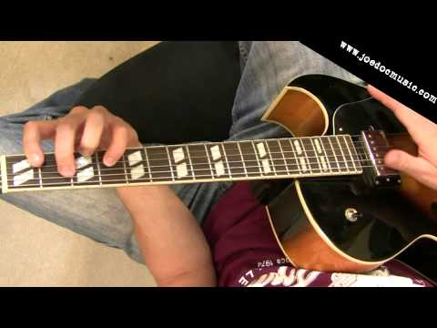 Jazz Guitar Comping Lesson: Ii-V-I Voice Leading With Useful Chord Voicings 2-5-1