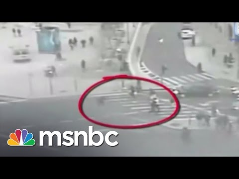 Mayor Of Jerusalem Tackles Man With Knife | msnbc